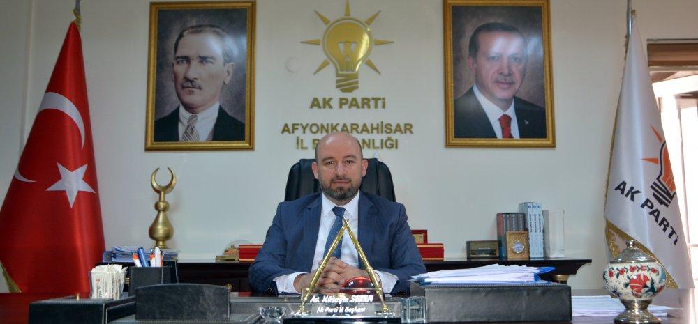 AK PARTİ İL BAŞKANI SEZEN GAZETE 3'ÜN 11. YILINI KUTLADI